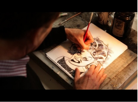 VIDEO: TOM BACHTELL DRAWS FOR THE TALK OF THE TOWN posted by The New Yorker