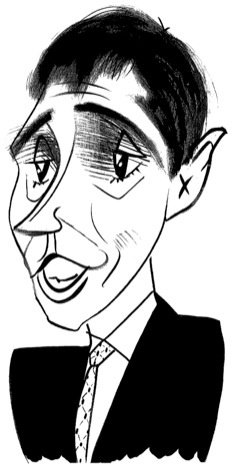 David Plouffe by Tom Bachtell; The New Yorker; David Remnick
