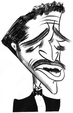 Sammy Davis, Jr. by Tom Bachtell; The New Yorker; Lizzie Widdicombe