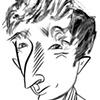 John Updike by Tom Bachtell