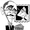 Obama &amp; FDR by Tom Bachtell