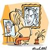 Tom Bachtell Self-Caricature
