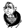Heads of State --- George W. Bush Drawings for The New Yorker