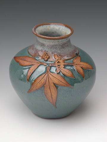 Heavenly Bamboo Leaf Vase