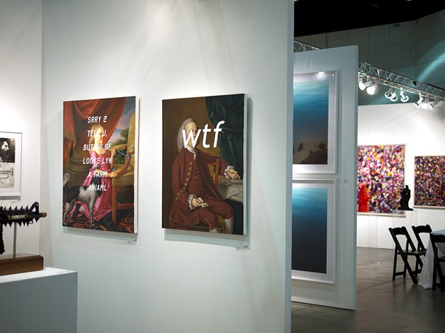 "Installation View ""LA Art Show"""