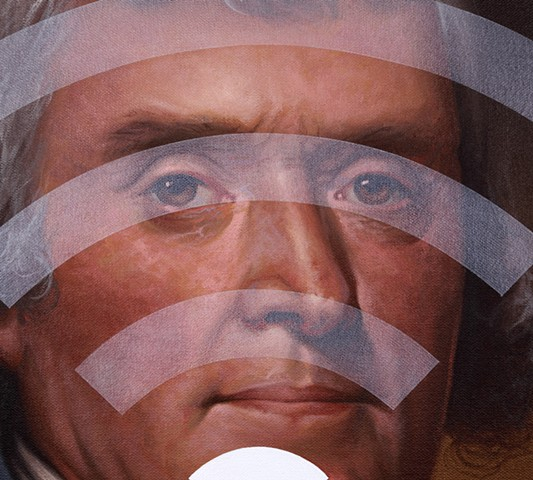 Thomas Jefferson: Panic Four (Spotty WiFi), detail