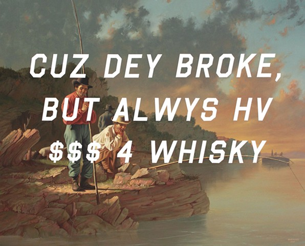 Fishing On The Mississippi: Because They Broke, But Always Have Money For Whiskey