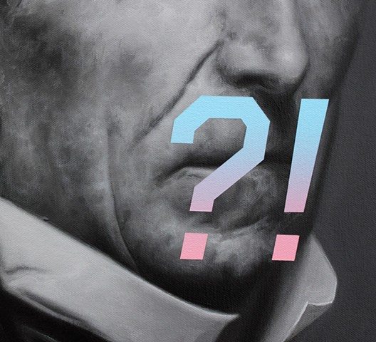 John Tyler's Expression Of Surprise, Confusion, or Shock, detail