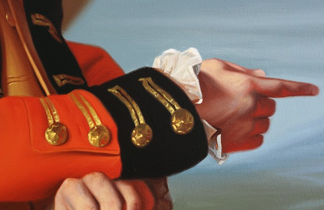 General Thomas Gage: Oh My God, detail