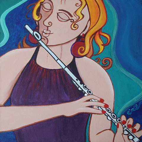 Untitled Flutist