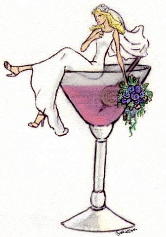Bride In Martini