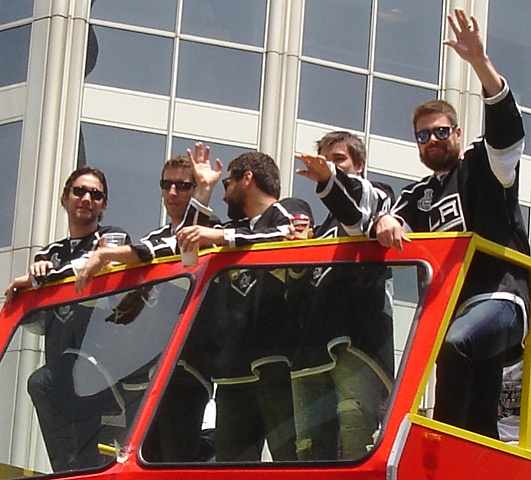 Stanley Cup champions 2012, L.A. Kings, hockey