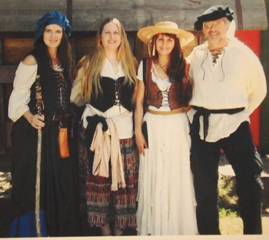 Renaissance Faire peasants