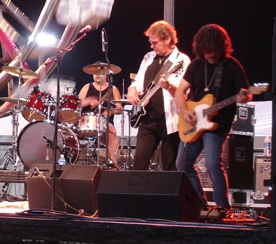 Belladonna, on stage at the Conejo Valley Days, in 2011
