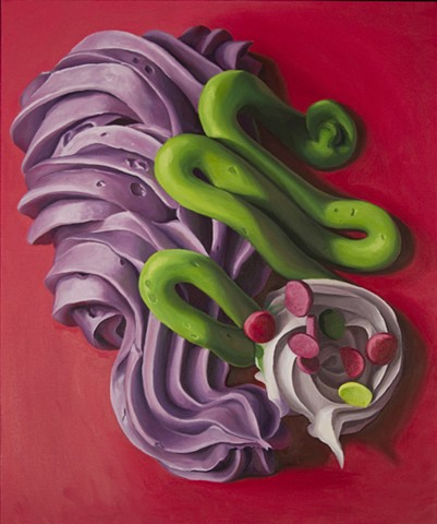 Purple Adornment