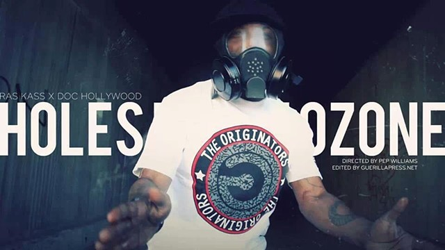 "Ras Kass ""Holes In the Ozone"".  Directed By Pep Williams."