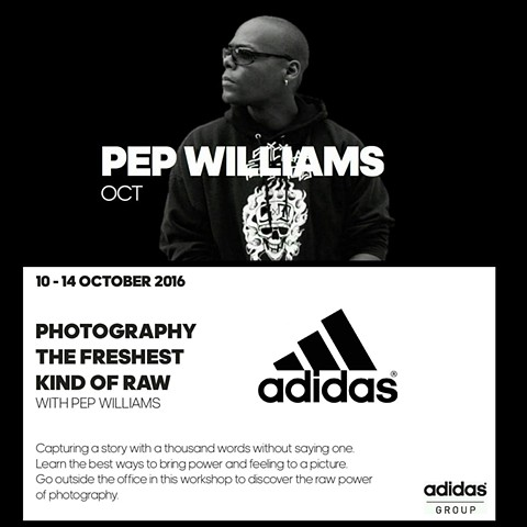 Speaking at Adidas Headquarters in Germany.
