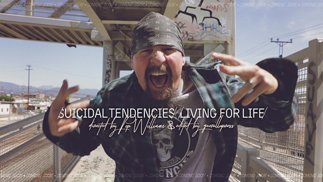 "Suicidal Tendencies - ""Living For Life"""