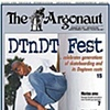 Pep Williams on the Cover of the Argonaut.