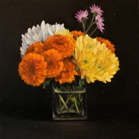 Marigolds and Daisies