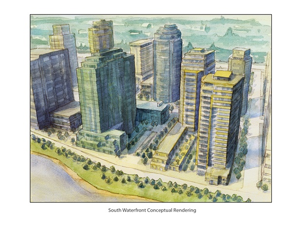 South Waterfront Rendering