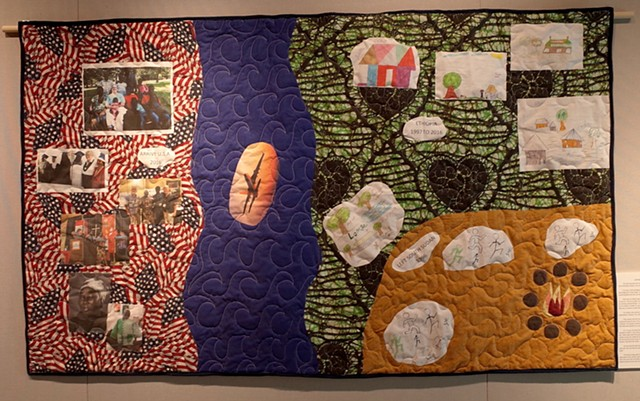 Journey story quilt: South Sudan