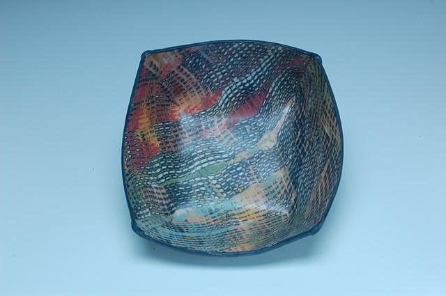 Double Pattern Bowl