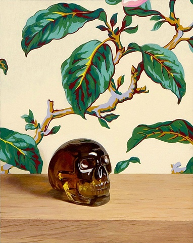Untitled (Amber Skull)