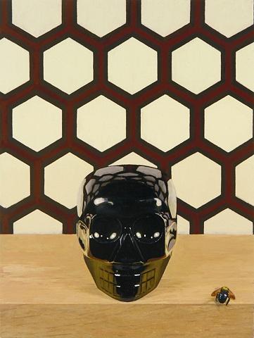 Untitled (Onyx Skull 2)