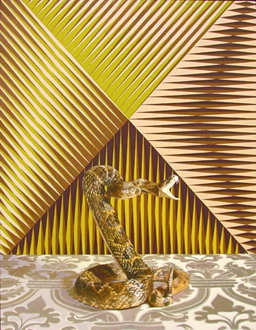 Untitled (Gold Rattlesnake)