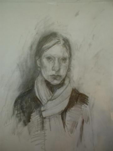 Winter Scarf Sketch