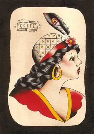 hat lady profile