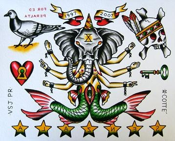 for senzala tattoo's anniversary