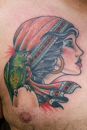 edgardo's pirate and parrot