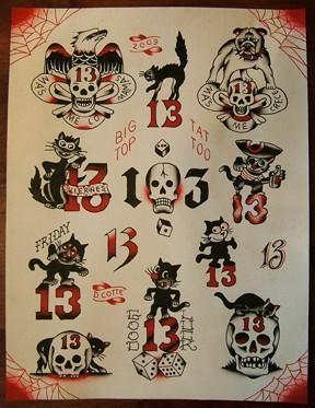 thirteen 13's
