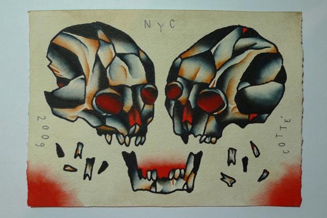 skull pair