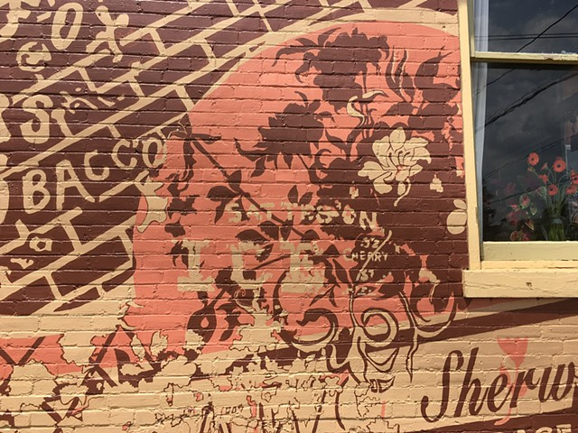 mural is at Sherwood Florist, 30 Elm Street, Milton, PA 17847