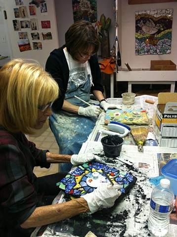 Mosaic Workshop 5-20-13