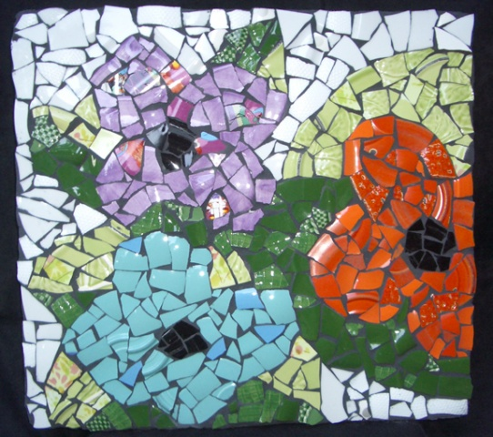 Childrens Hospital Flower Mosaics Boston, MA
