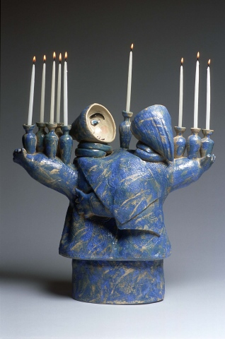 Dancing Menorah