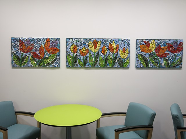 TULIPMANIA - Hale Family Center for Families, Boston Children's Hospital, Boston, MA