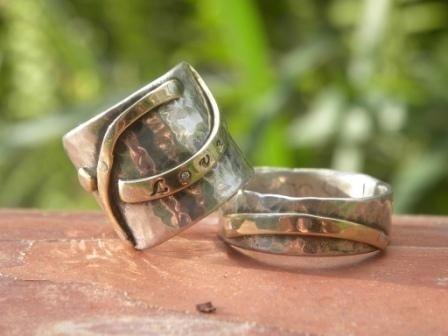 untitled, custom wedding rings