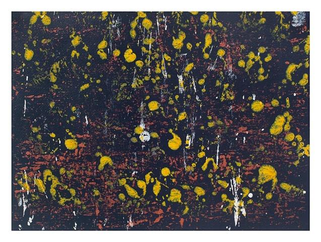 In Time of Silver Rain (Copper Yellow Black White)