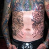Dragon and snake on the riblets of Jacoby Shaddix of Papa Roach, in progress. Started during my most recent trip to California.