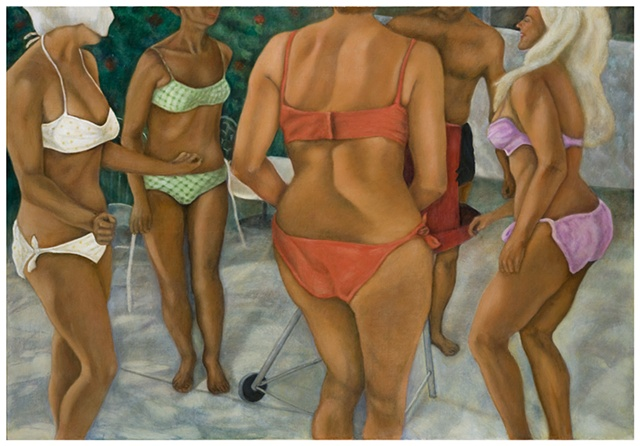 Poolside Muses