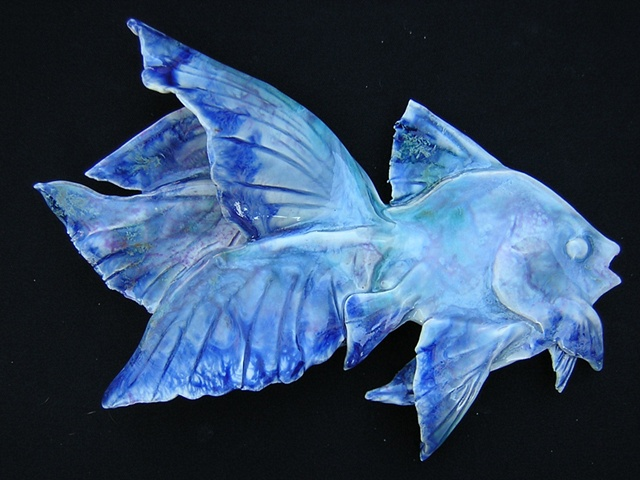 Wall hanging fish