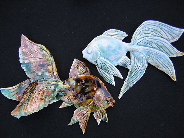 Wall Hanging fish Collections