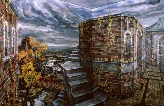 Panoramic corner