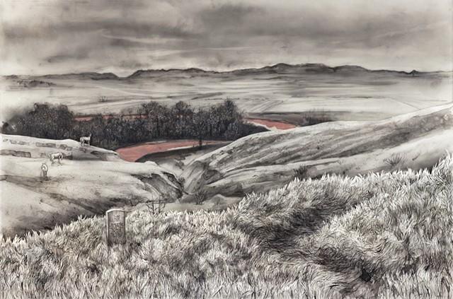 Little Bighorn Battlefield, Crow Agency, Montana.