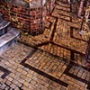 Collapsing floor